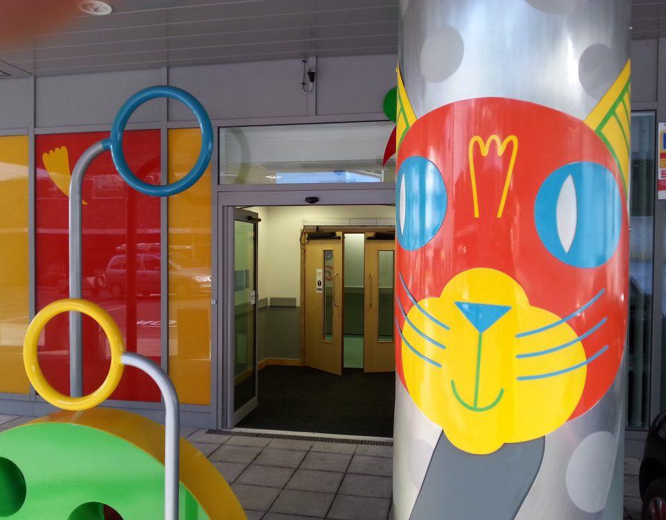 Cat - Bristol Children's Hospital